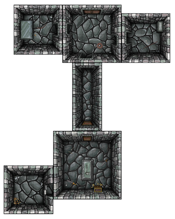 merchants crypt 5 room dungeon pdf