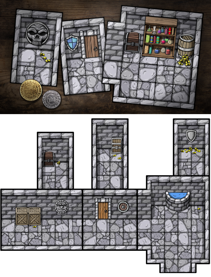 9 rooms of the dungeon